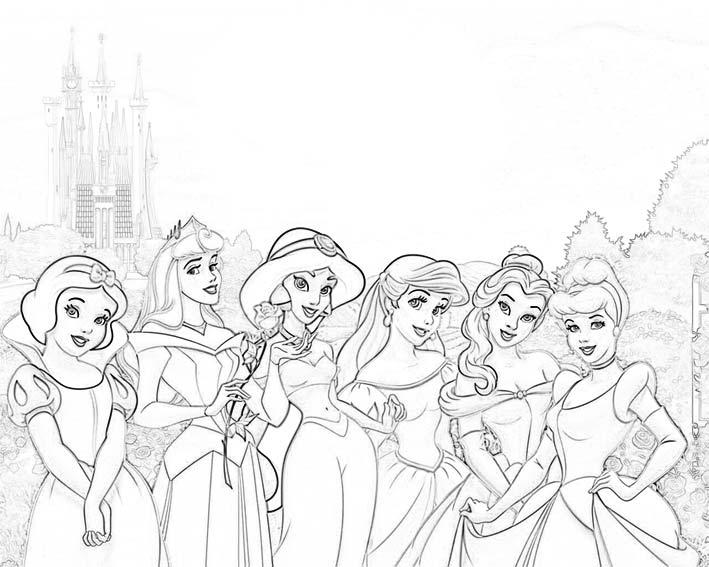 Dibujos de princesas a lapiz - Imagui