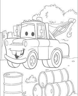 Dibujos De Cars Para Colorear Org Manualidades Colgantes ...