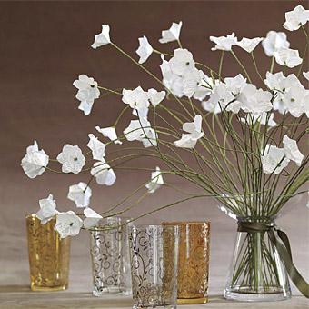 flores de papel post