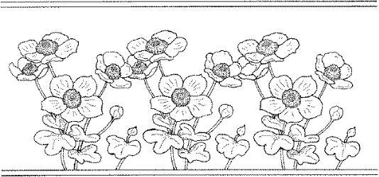 Guardas con flores para pintar - Imagui
