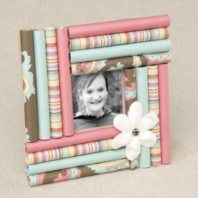 C mo hacer marcos para fotos con cart n - Marcos de papel para fotos ...