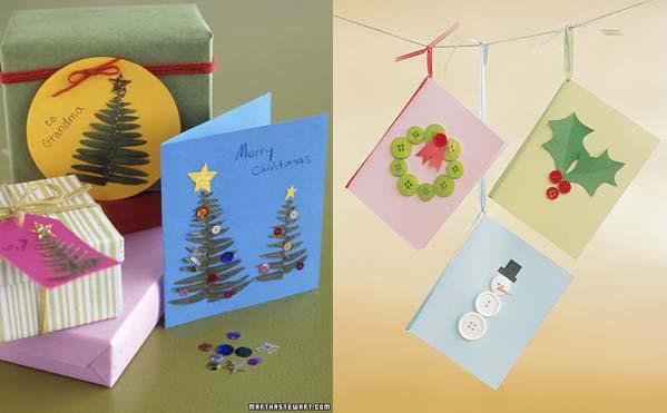 postales - Como Hacer Una Postal De Navidad