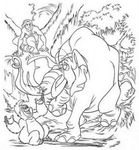tarzan mono elefante-733309