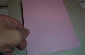 Tarjeta navidad papel paso1
