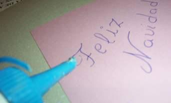 Tarjeta navidad papel paso3