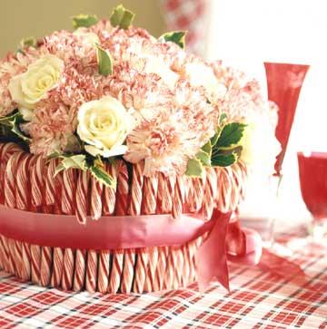 centro de mesa navidad flores