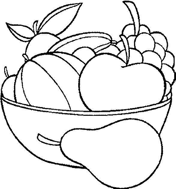 Dibujos de frutas y verduras