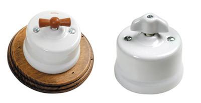 Interruptores de Porcelana