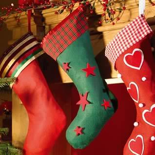 Figuras navideñas en fieltro