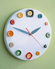 Decoración reloj de sala