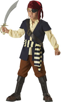 Como hacer disfraz de pirata