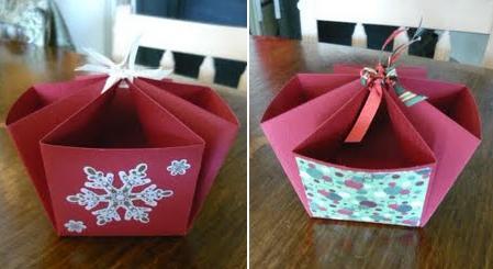 ¿Cómo hacer una canasta de papel para golosinas?