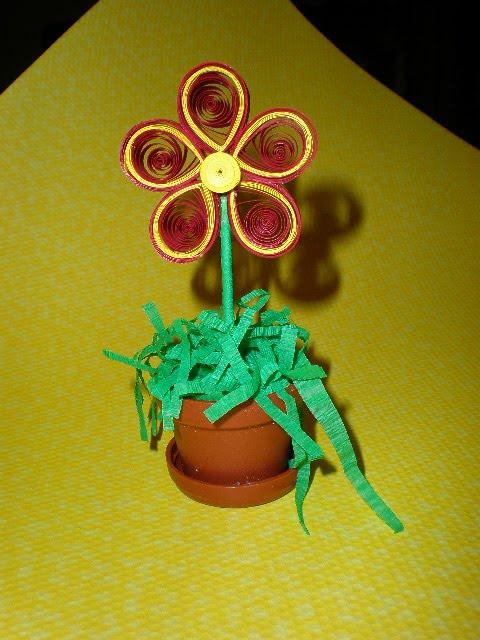 Como hacer una flor 3D con cartulina