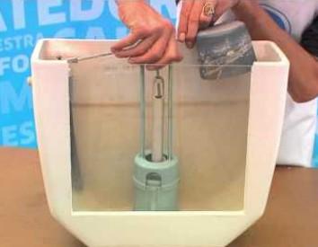 Reparación Fácil de la Cisterna de un WC