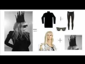 Disfraz de Lady Gaga Rápido y Fácil