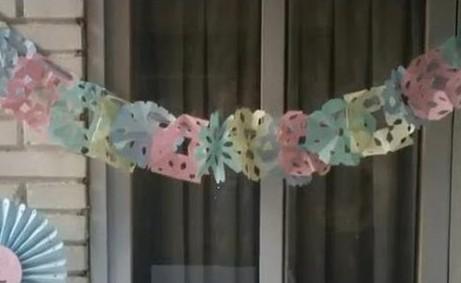 Como hacer guirnaldas de papel